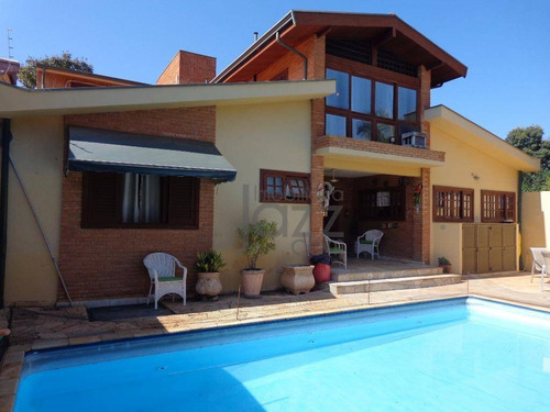 Casa Com 4 Dormitórios À Venda, 264 M² Por R$ 1.200.000,00 - Barão Geraldo - Campinas/sp - Ca2350