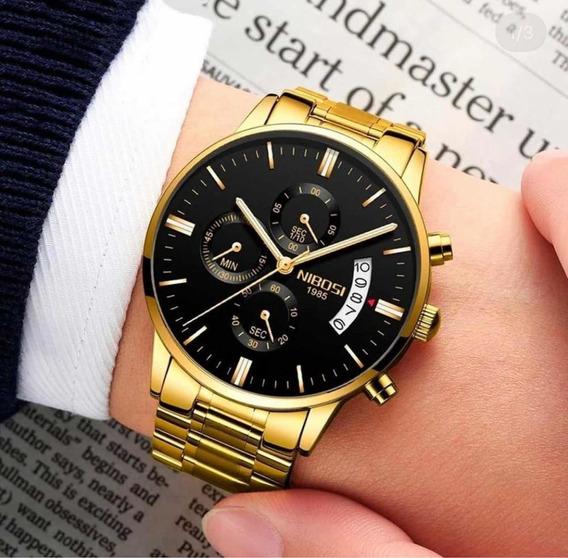 Relógio Nibosi Original 1985 A Prova D
