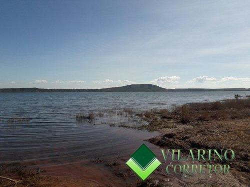 Lote Com  Fundo Pra Represa Ilha Mangabal - 3006