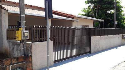 Linda Casa Em Barra Velha 1000 Metros Da Praia   02 Dormitórios   02 Banheiros - Sa00548 - 33600487