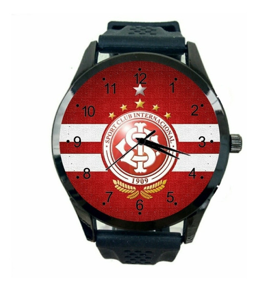 Relógio Do Internacional Feminino Barato Futebol Gratis T190