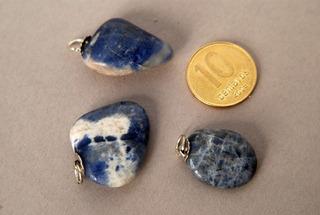 Piedra Dije De Sodalita Rolada Nro. 2
