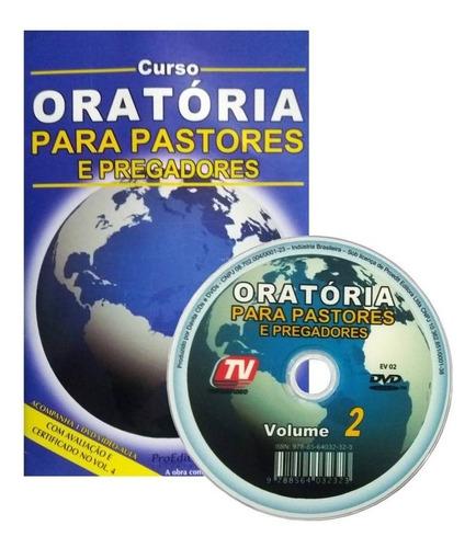 Dvd Oratória Para Pastores Pregadores Vol. 2