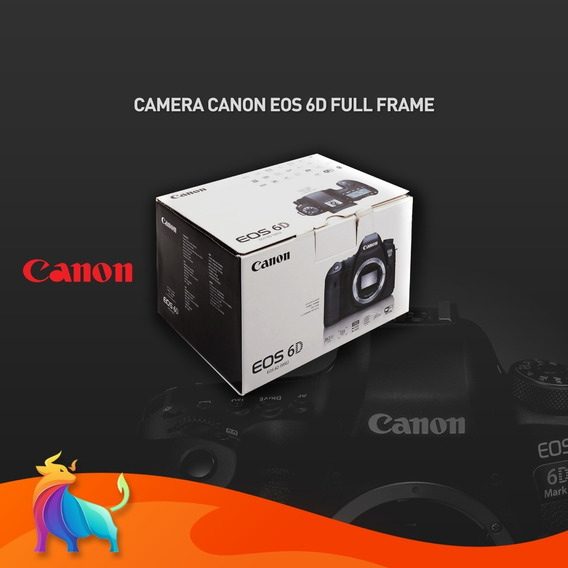 Camera Canon Eos 6d Corpo
