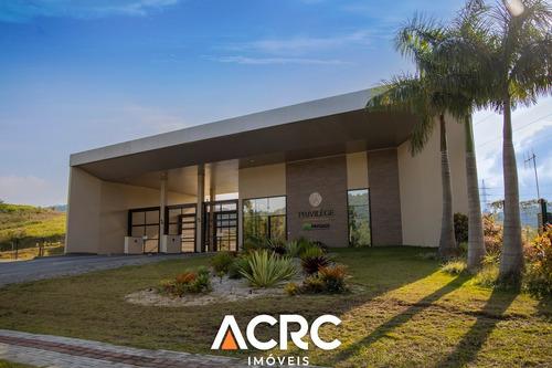 Acrc Imóveis - Terreno Residencial No Condomínio Paysage Privilège Em Blumenau - Te00625 - 69368701