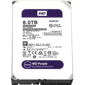 Hd Dvr 8tb Western Digital Purple Sata 128m Wd80puzx Full