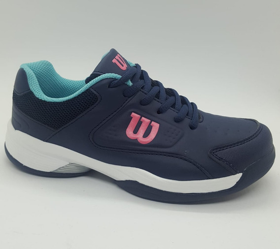 Zapatillas Tenis Wilson Mujer - Game 2019 - Cuotas S+w