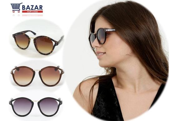 Óculos De Sol Feminino Verão 2019 Com Estojo E Flanela