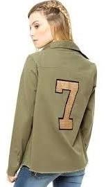 47 Street Camisa De Gabardina Verde Modelo Murray Promo