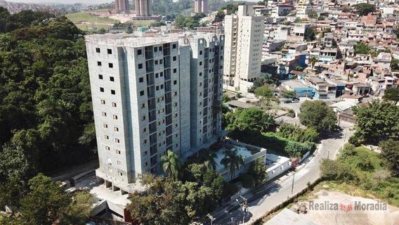 Apartamentos De 52 M² Com 02 Dormitórios - Residencial Vista Alegre Ll- Embu Das Artes - Ap0710