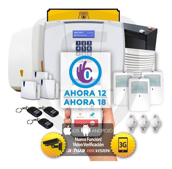 Kit Alarma Marshall 3 3t Gsm 3g Inalambrica App Celular Marshall App Domiciliaria Hogar Casa Comercio Marshall3