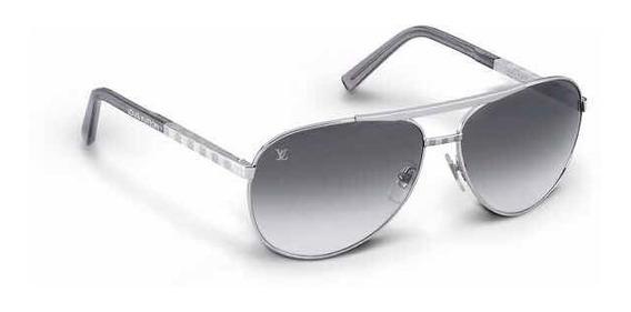 Óculos De Sol Louis Vuitton Atitude Pilote - Original