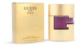 Perfume Guess Man Gold 75ml Edt Spray