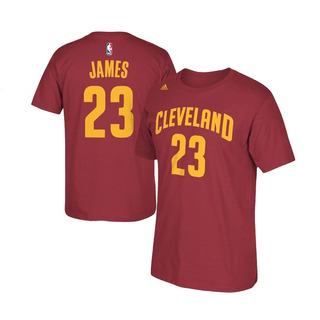 Remera Cleveland Cavaliers Player Lebron James