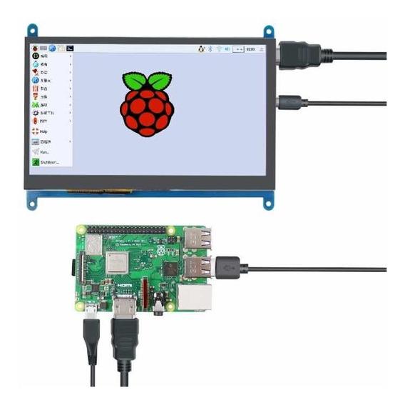 Raspberry Tela Lcd 7 Polegadas Touch Pi3 P2 1024x600