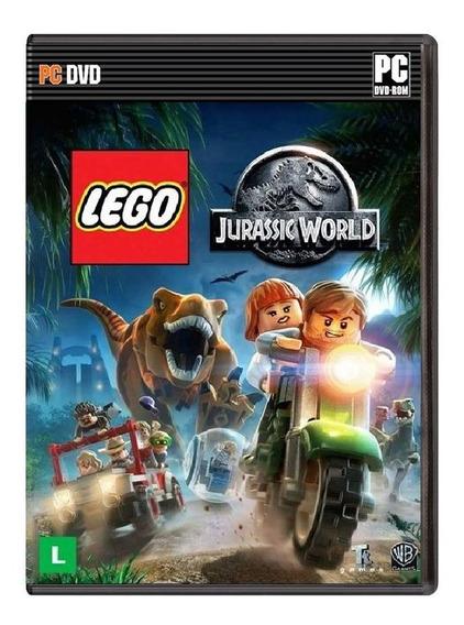 Lego Jurassic World - Pc - [ Mídia Física ] Frete Grátis
