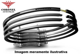 Anel Segmento Ford 2.0 16v Duratec Direct Flex Focus 1,00