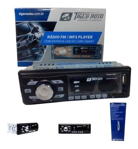 Imagem 1 de 4 de 5 Peça Radio Tiger Player Usb Sd Card Usb P2 25x4