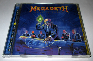 Cd Megadeth, Rust In Peace