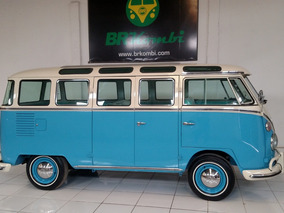 Restored Split Windows Vw Bus Kombi Samba Replica