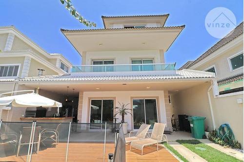 Imagem 1 de 30 de Casa Com 5 Dormitórios, 244 M² - Recreio Dos Bandeirantes - Ca0022