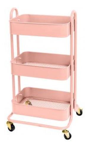 We R - Carrinho Organizador - A La Cart - Rosa