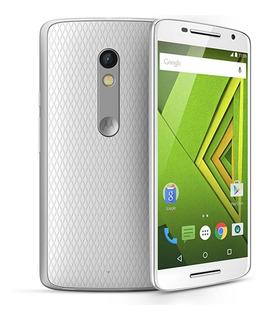 Telefono Motorola Moto X Play Blanco Europeo Prepagado