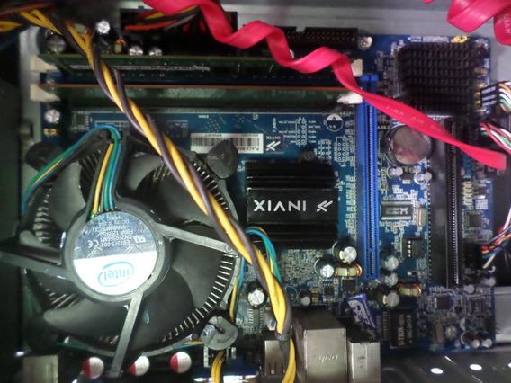 Placa Mae + E3400 + 4gb Ddr3