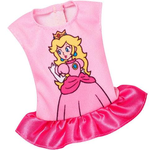 Imagen 1 de 1 de Barbie Ropa Super Mario Peach Mattel