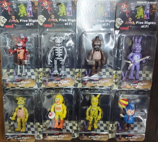 Muñecos Five Nights At Freddy
