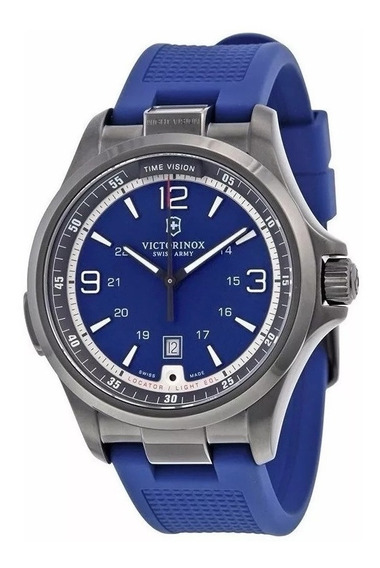 Reloj Victorinox Night Vision, Color Azul