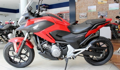 Honda Nc 700x Vermelha 2013
