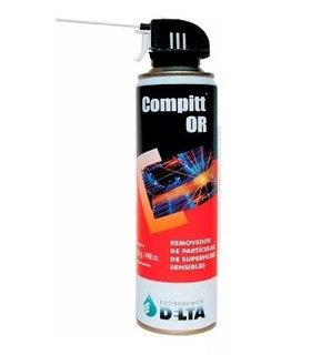 Compitt Or Gas Comprimido Delta 450gr Aire Para Limpieza Pc