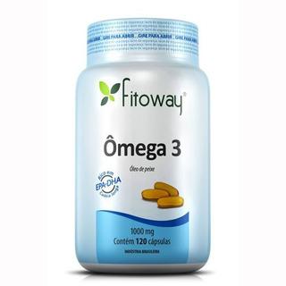 Omega 3 Fitoway - 120 Cápsulas - Fitoway
