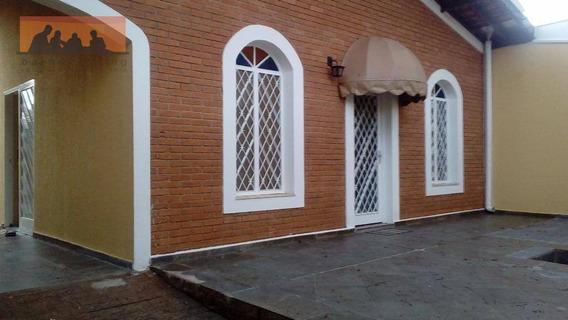 Casa Com 3 +2 Dormitórios Para Alugar, 150 M² Por R$ 3.200/mês - Cidade Universitária - Campinas/sp - Ca1209