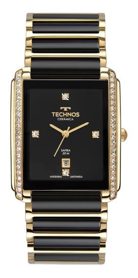 Relógio Technos Masculino Ceramic Gn10ay/9p
