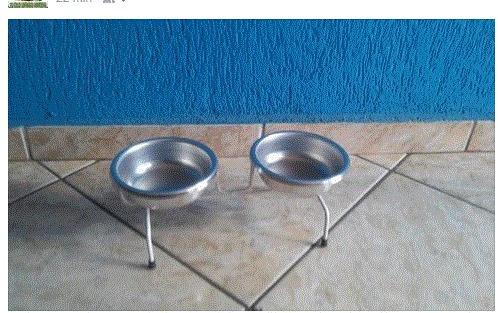 Comedouro Com Bebedouro Para Cães