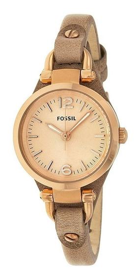 Relógio Feminino Fossil Georgia Es3262 Ladies Original