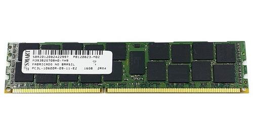 Imagem 1 de 1 de Memoria Ram Smart 16g Ddr3 Ecc 2rx4 Sem Dissipador