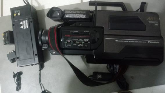 Câmera Filmadora Vhs Panasonic M5 No Estado Leia Descrição