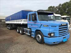 Scania P 113 360 Mais Carroceria Ano 97 Azul