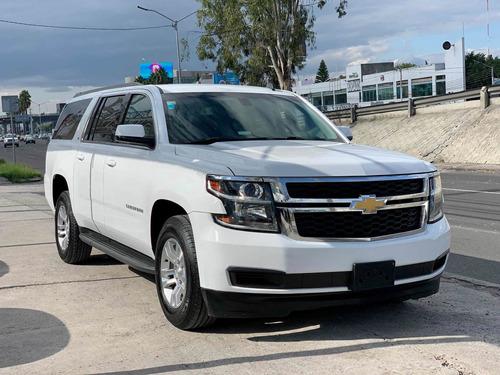 Imagen 1 de 15 de Chevrolet Suburban 2016 5.4 Ls Tela At