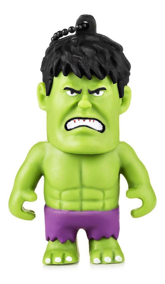 Pendrive Marvel Hulk 8gb Usb Multilaser