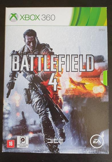 Jogo Battlefield 4 Xbox 360 (grátis Filme Tropa De Elite)