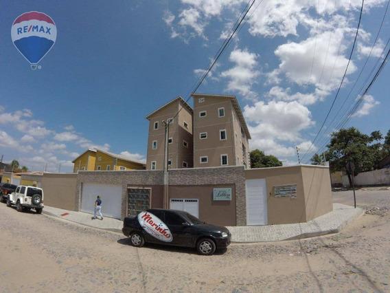 Apartamento Novo No Potira Próximo À Av. Dom Almeida Lustosa - Ap0216