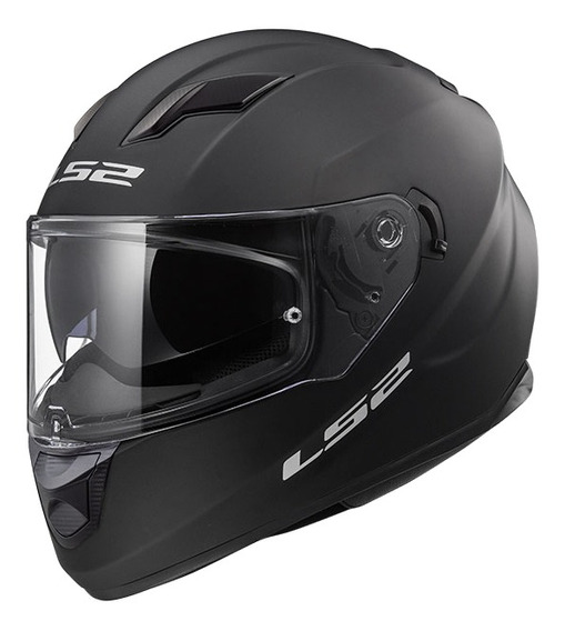 Casco para moto integral LS2 Stream Evo Solid matt black talle XL