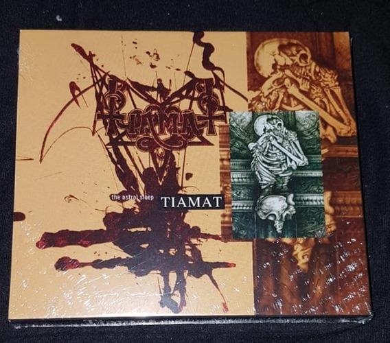 Cd Tiamat - The Astral Sleep - Acrilico , Slipcase E Poster