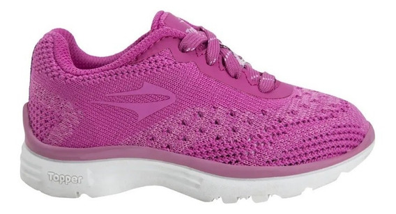 Topper Zapatillas Nena Wool Fucsia