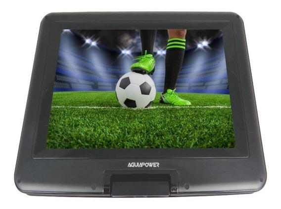 Dvd Portátil Evd Tv Analogica 7.5 Polegada Com Capa