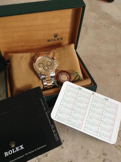 Reloj Rolex Daytona Zenith, Año 1995, Ref.16523, 6 Invertido